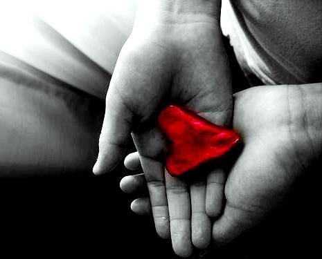 Con el corazón en la mano...